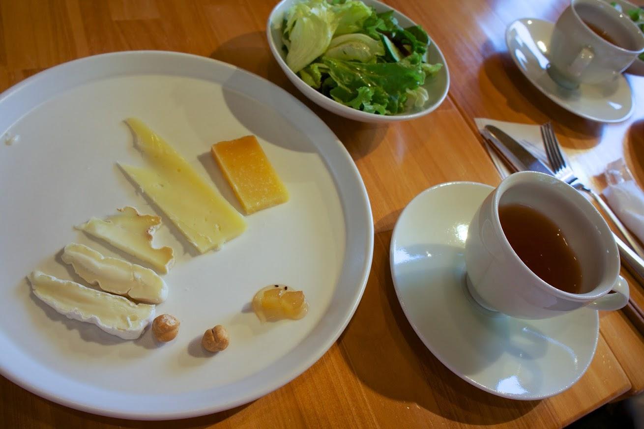 試食チーズ