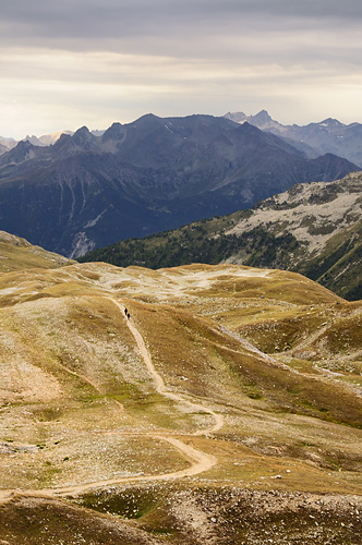 Traversée des Alpes, du lac Léman à la Méditerranée Gr5-mont-blanc-briancon-chaviere-randonneurs