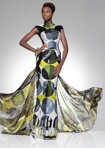 African inspiration; kitenge