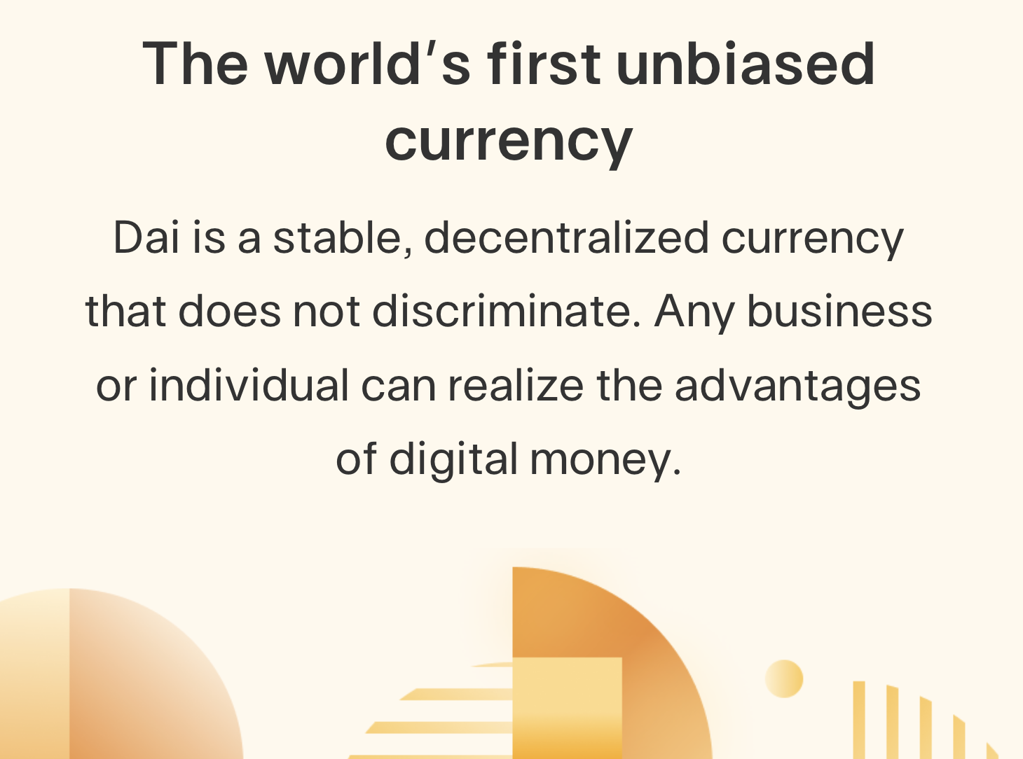 MakerDAO's less volatile Dai stablecoin can help alleviate the fear of cryptocurrency.