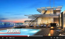 Yacht Club de Monaco- pool/ piscine deck