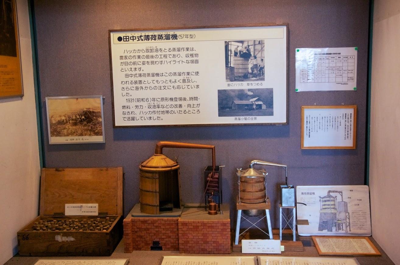 田中式薄荷蒸留器