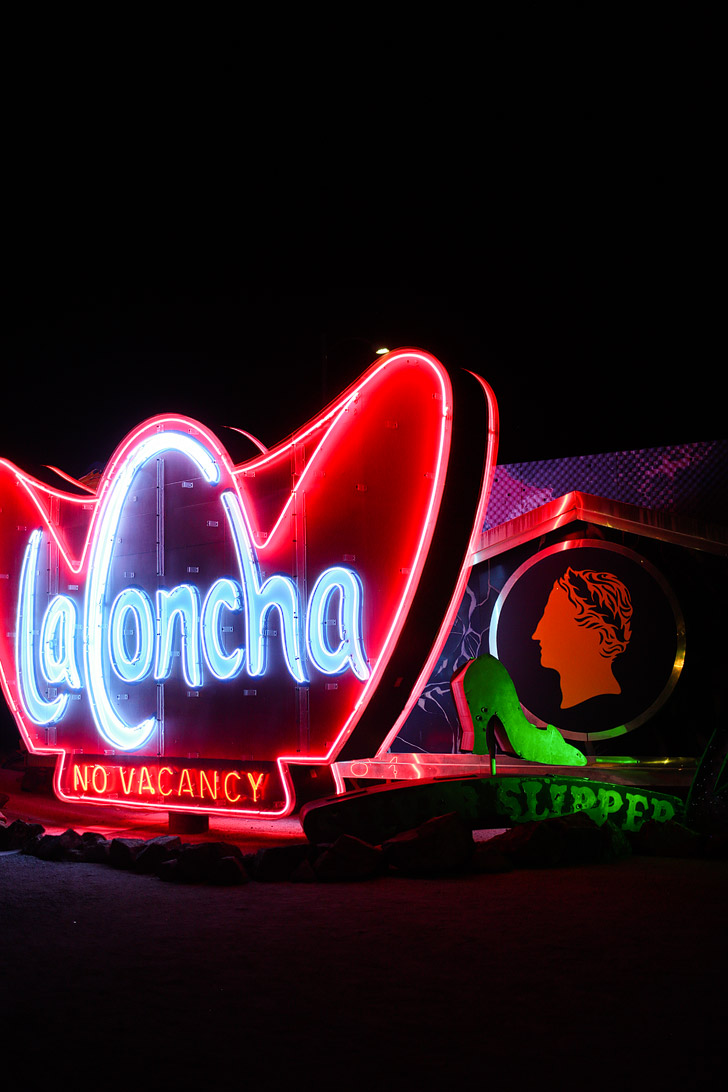 La Concha Las Vegas Neon Museum.