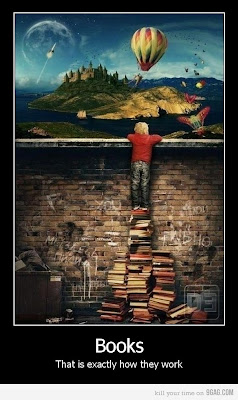 Así es como funcionan los libros