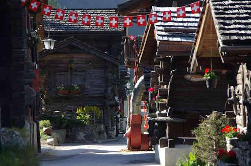 Le vieux village de Zinal