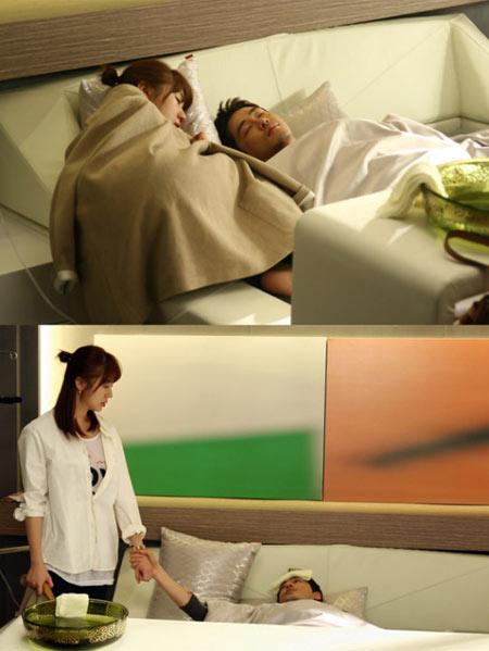 """เตรียมพบกับฉากจูบหวานฉ่ำระหว่าง Yoon Eun Hye และ Kang Ji Hwan ใน """"Lie To Me"""""""