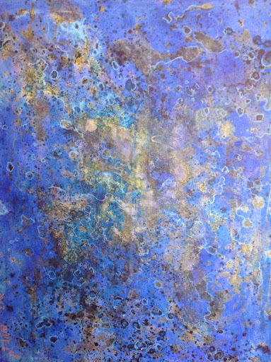 Full of Vibrant Life. Acrylic on Canvas 73x92cm. The Third Artist AHdP/KRF