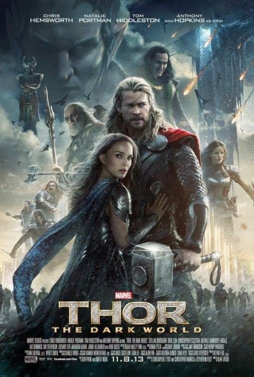 Poster Of Thor: The Dark World (2013) Full Movie Hindi Dubbed Free Download Watch Online At Alldownloads4u.Com