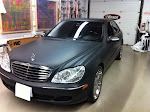2004 Mercedes Benz S500 - full matte black 3M 1080 series