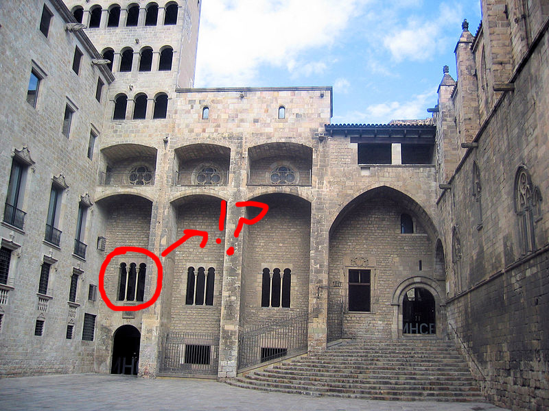 El falso gótico de Barcelona