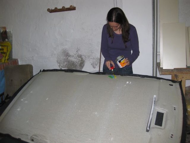 Tapizado techo forocoches - Tela para tapizar techo coche ...