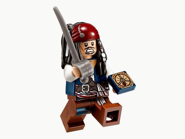 4191 レゴ パイレーツオブカリビアン 船長のキャビン