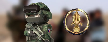 French Foreign Legion Papercraft