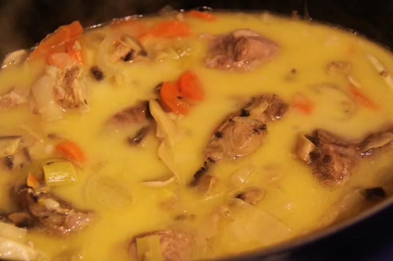 Ma cuisine vapeur blanquette de veau au four vapeur - Blanquette de veau maison ...