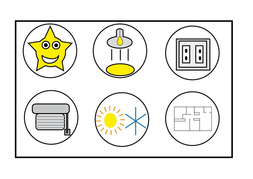 Patricia royo pictogramas for Control de iluminacion domotica