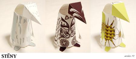 Steny Paper Toy Set 3