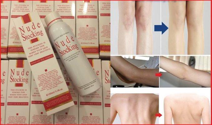Tất phun chân Nhật Bản Nude Stocking