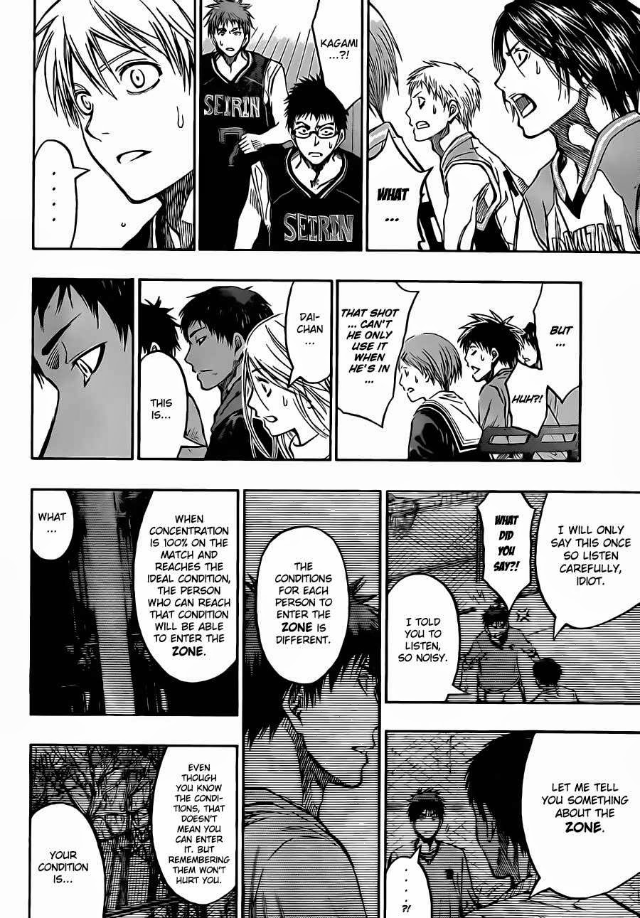 Kuroko no Basket Manga Chapter 232 - Image 18