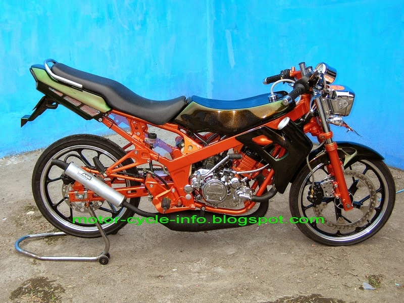 cara modifikasi motor: Modifikasi Motor Ninja 150rr