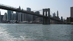 Downtown behind the Brooklyn Bridge