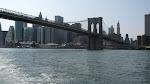 Downtown behind the Brooklyn Bridge