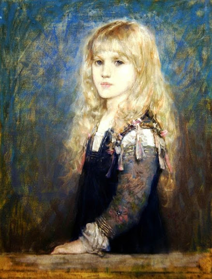 Henry Boughton - Portrait of Esme Robb