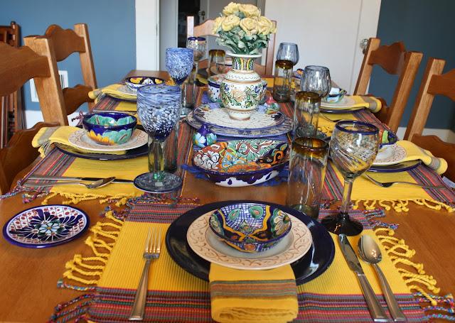 Life With The Mozas Viva Fiesta Tablescape