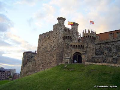 castillo templarios, ponferrada