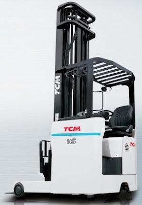 Xe nâng reach truck 1.6t TCM FRSB16-9F