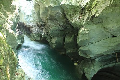 徳島名滝探訪 土釜のイメージ画像
