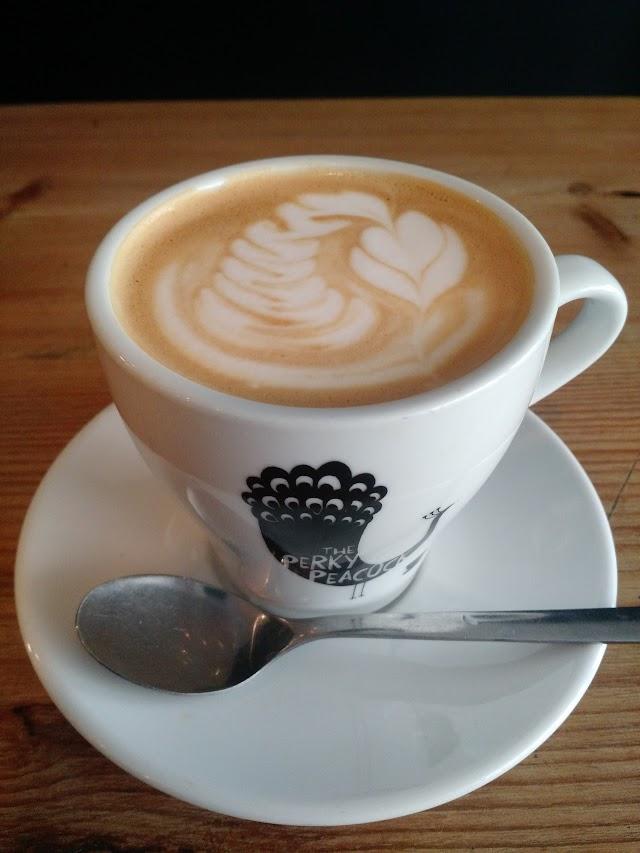 Perky Peacock Coffee Shop