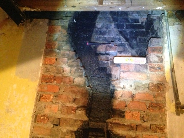 Renovating an old stone cottage: Decommissioning an unused chimney