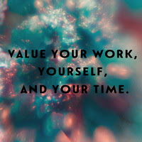 valuing yourself as a creative