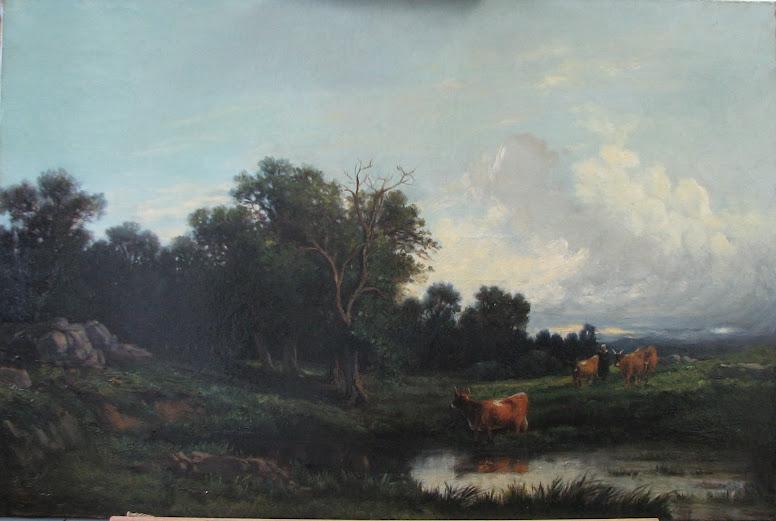 Ceulon, Paysage, 1880