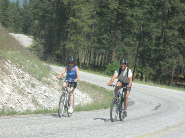 biking the biathlon