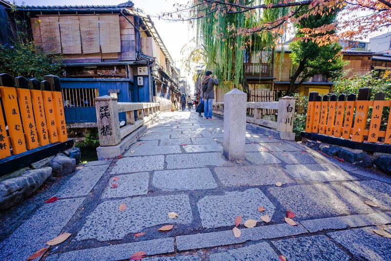 京都 祇園 巽橋 写真