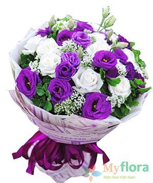 Bó hoa tươi Chân tình 2