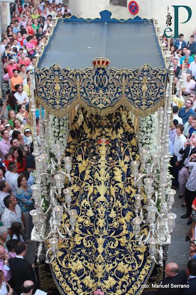 Paso de Palio de Nuestra Señora de la Estrella