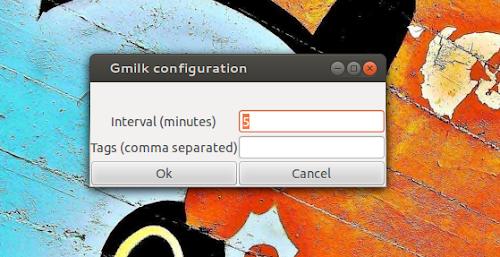 Gmilk - configurazione