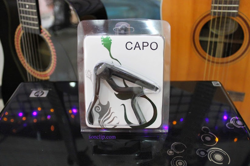 Capo Guitar Acoustic - Dunlop Trigger Curved Black