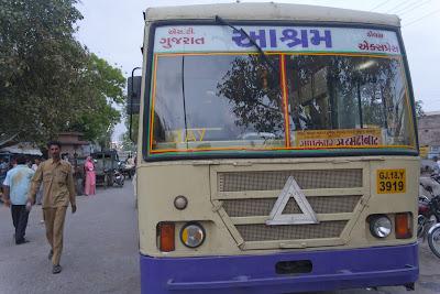 Imagen de autobús indio