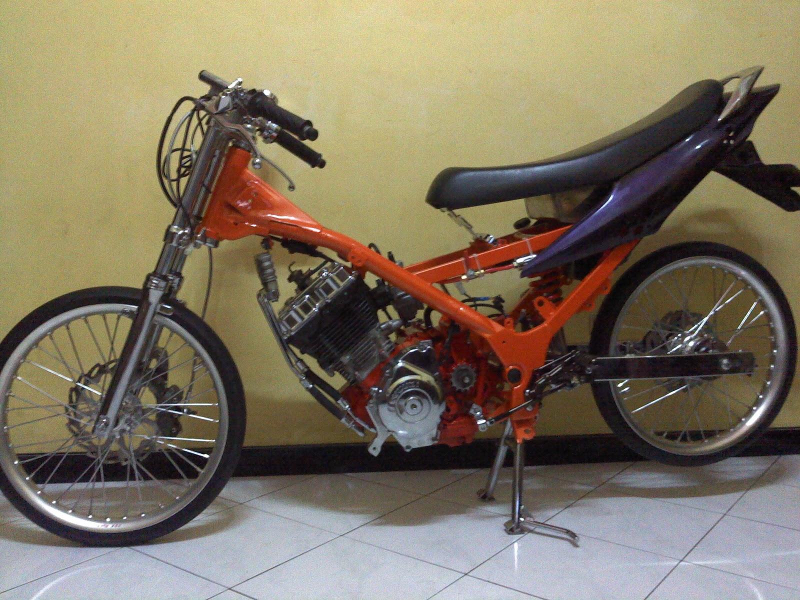 independent modified: racing look satria fu