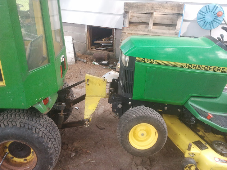 John Deere Tractor Lift Problems : John deere hydrualic problems rockshaft cyl spewing from