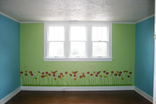 Keep me curly tidbit tuesday for How to paint 2 colors in a room