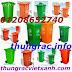 Thùng rác, thung rac nhua, thùng rác giá rẻ LH: 01208652740 - Huyền