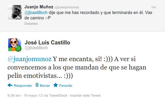 Twitter con Juanjo 3