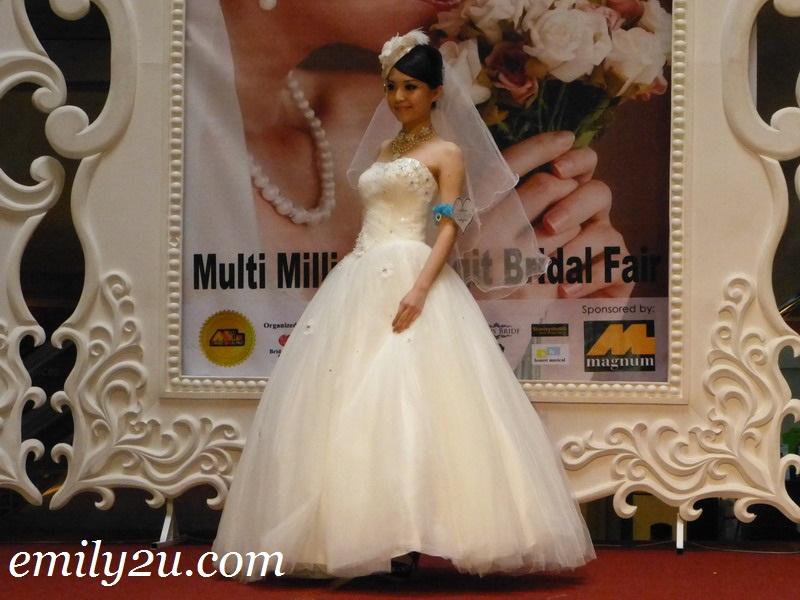 multi million Ringgit bridal wear fashion show