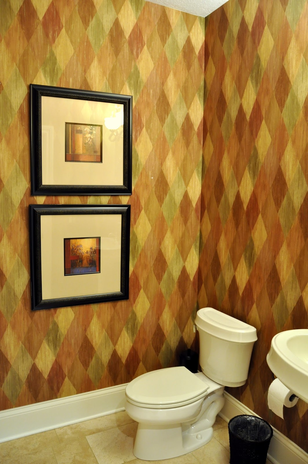 Exelent Powder Room Wall Ideas Image - The Wall Art Decorations ...