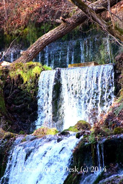 The  waterfall at Karuzawa