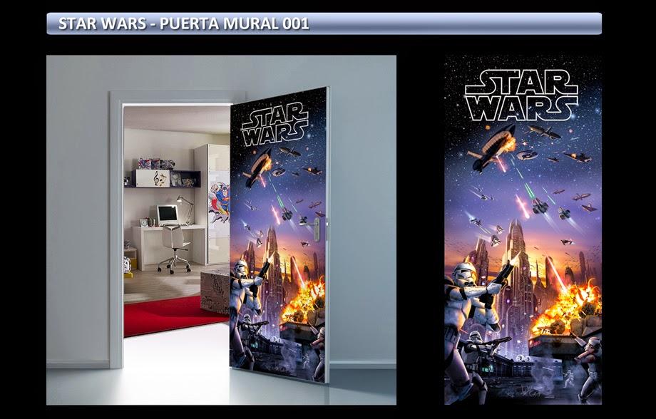 Star Wars Posters Adhesivos Gigantes - Carteles de Cine - Arteygraficadigital